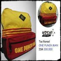 Jual Tas Ransel Backpack Anime ONE PUNCH MAN Murah