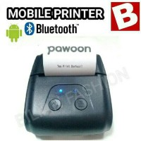 Pawoon Mobile Printer Bluetooth kasir/pos/toko 58mm PPOB android