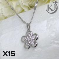 harga X15 Kalung Putih Xuping Yaxiya - Perhiasan Lapis Emas 18k Tokopedia.com