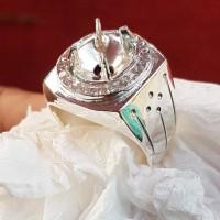 ring ikat emban cincin perak banjar murni tebal murah