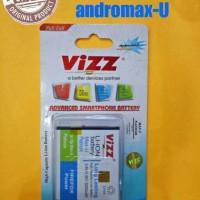 Battery/baterai Double Power Vizz Smartfren Andromax U