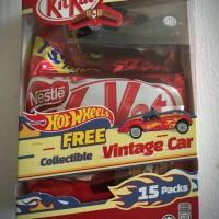 Jual Cokelat Import Kitkat FREE COLLECTIBLE VINTAGE CAR Harga termurah Murah