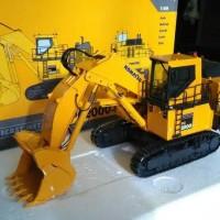 harga Diecast Miniatur Alat Berat Excavator Pc 2000 Front Shovel Komatsu Tokopedia.com