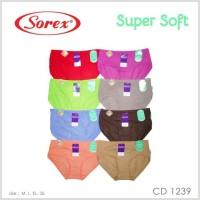 cd celana dalam wanita sorex super soft 1239