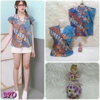 Jual Lf-370 blouse kimono batik Murah
