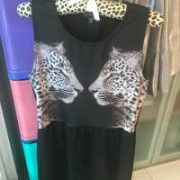 Jual Dress leopard cotton on Murah