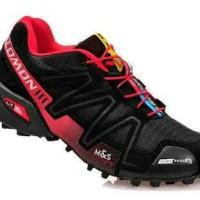 Salomon SpeedCross 3 Trail Running Black Red