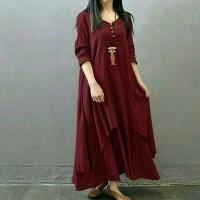 Baju Wanita Maxi Syahrini