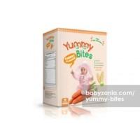 Jual  Yummy Bites Baby Rice Cracker  50 gram  Carrot Makanan Bayi T2909 Murah