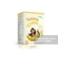 Jual  Yummy Bites Baby Rice Cracker  50 gram  Banana Makanan Bayi T2909 Murah