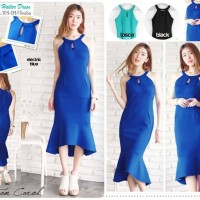 Jual AQ2964 Mermaid Halter Dress KODE X2964 Murah