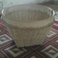 besek bakul tenggok bambu natural tempat jamu gendong