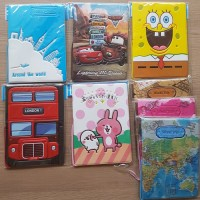 Jual Cover Paspor - BATMAN - STITCH - SPIDERMAN - Passport - Organizer Murah