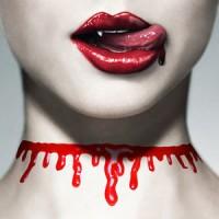 Jual Kalung Choker Murah Halloween Blood Murah