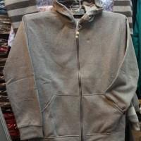 Jaket jumbo hoodie sleting 1 ukuran 7L/9L