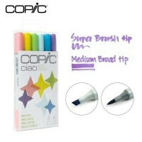Jual COPIC CIAO Marker 6 Bright colour NEW!!! Murah