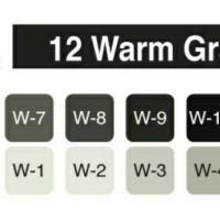 Jual COPIC Marker Warm Gray 12 pcs Murah