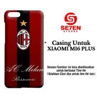 Casing XIAOMI MI6 PLUS ac milan 3 Custom Hard Case