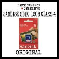 Memory Card SANDISK SDHC / SD 16GB Class 4 / C4