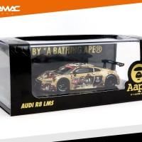 Jual Audi R8 LMS 2016 Shanghai Round AAPE - Tarmac Works Original Diecast Murah