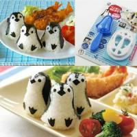 Jual Cetakan Nasi Nori Baby Pinguin Penguin Bento Rice Mold Seaweed Cutte  Murah