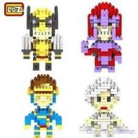 Jual Lego Nano Loz Block Diamond X Men Xmen Wolverine Storm Cyclops Magne  Murah