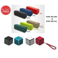 Harga bundling promo sony bluetooth speaker srs xb3 srs x11 | Pembandingharga.com