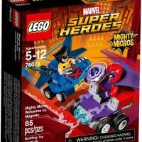 Jual LEGO 76073 - Super Heroes - Mighty Micros: Wolverine vs. Magneto  Murah
