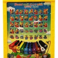 Jual Mainan Edukatif / Edukasi Anak Magnetic Board Sound Chart Papan Tuli  Murah
