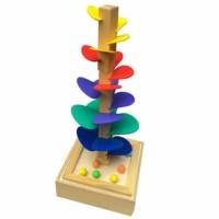 Jual Mainan Edukatif / Edukasi Anak - Pohon Luncur Kelereng / Marble Run  Murah