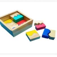 Jual Mainan Edukatif / Edukasi Anak - Stack and Match Susun Tetris Warna  Murah