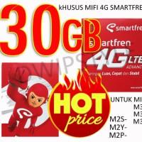 Jual PERDANA SMARTFREN KUOTA 30 GB UNTUK ALL MIFI 4G SMARTFREN/BOLT UNLOCK Murah
