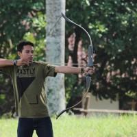 Laminasi Recurve Black Doff With Siyah (Archery / Bow )