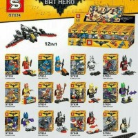 Jual Minifigure SY 634 - batman heroes set  Murah