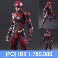 Jual PLAY ARTS KAI Justice League - The Flash Murah
