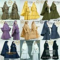 Dress Khadijah Syari #1 Gamis Baju Panjang Casual Wanita Modern