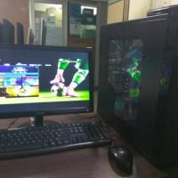 Jual Paket Pc Gaming AMD A4 3.40Ghz Lcd Asus 19inch wide PSU Enligt VGA ATi Murah