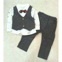 Jas Anak Import   Baju Anak Cowok Fashion   Setelan Rompi Anak Lucu
