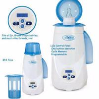 Jual Dr Brown Browns Deluxe Digital Bottle Warmer Defroster penghangat susu Murah