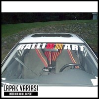 Jual Sticker Mobil - Stiker Mobil Ralli Art Windshield Old Murah