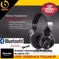 Jual Terkeren Foldable Bluetooth Headphone Bluedio T2 Turbine Hurricane W Murah