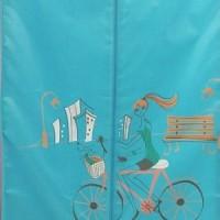 Jual pengering pakaian baju otomatis musim hujan clothes dryer PINK Murah