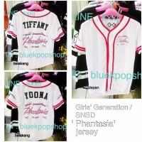 Jersey Kpop Girls Generation SNSD PHANTASIA World Tour