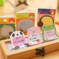 MK109 STICKY NOTES ANIMAL KERTAS CATATAN MEMO POST IT SOUVENIR