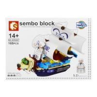 Jual Lego / Sembo Block (SD6207) One Piece / Pirate ship Murah