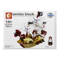 Jual Lego / Sembo Block (SD6206) One Piece / Pirate ship Murah