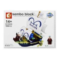 Jual Lego / Sembo Block (SD6208) One Piece / Pirate ship Murah