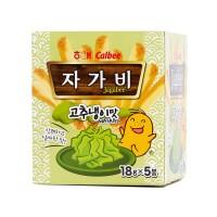 Jagabee Korea Wasabi Snack Kentang 5 Pack Populer
