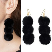 Jual Anting triple pom pom  Murah