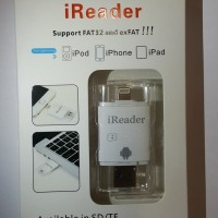 Jual  New iReader USB Micro SDTF Card Reader Writer for iPhone iPo T1310 Murah